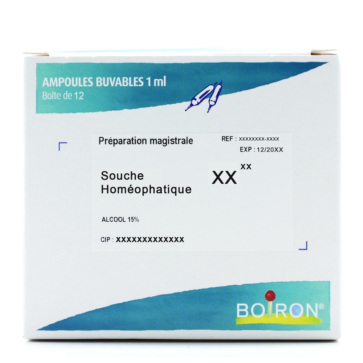 ACTH 7CH - Ampoules Buvables - 12 Unités