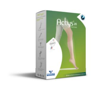 Actys 20 - Chaussettes Femme Classe 2 - Taille 3- Normal - Beige