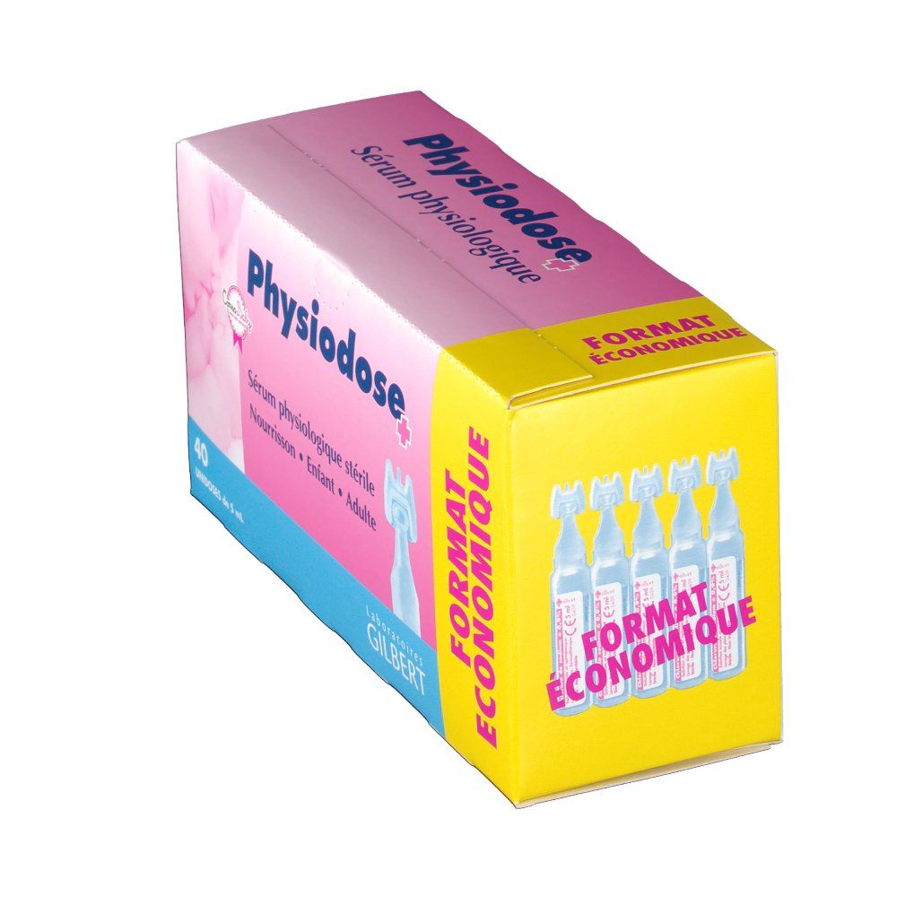 Physiodose Serum Physiologique 5ml x40