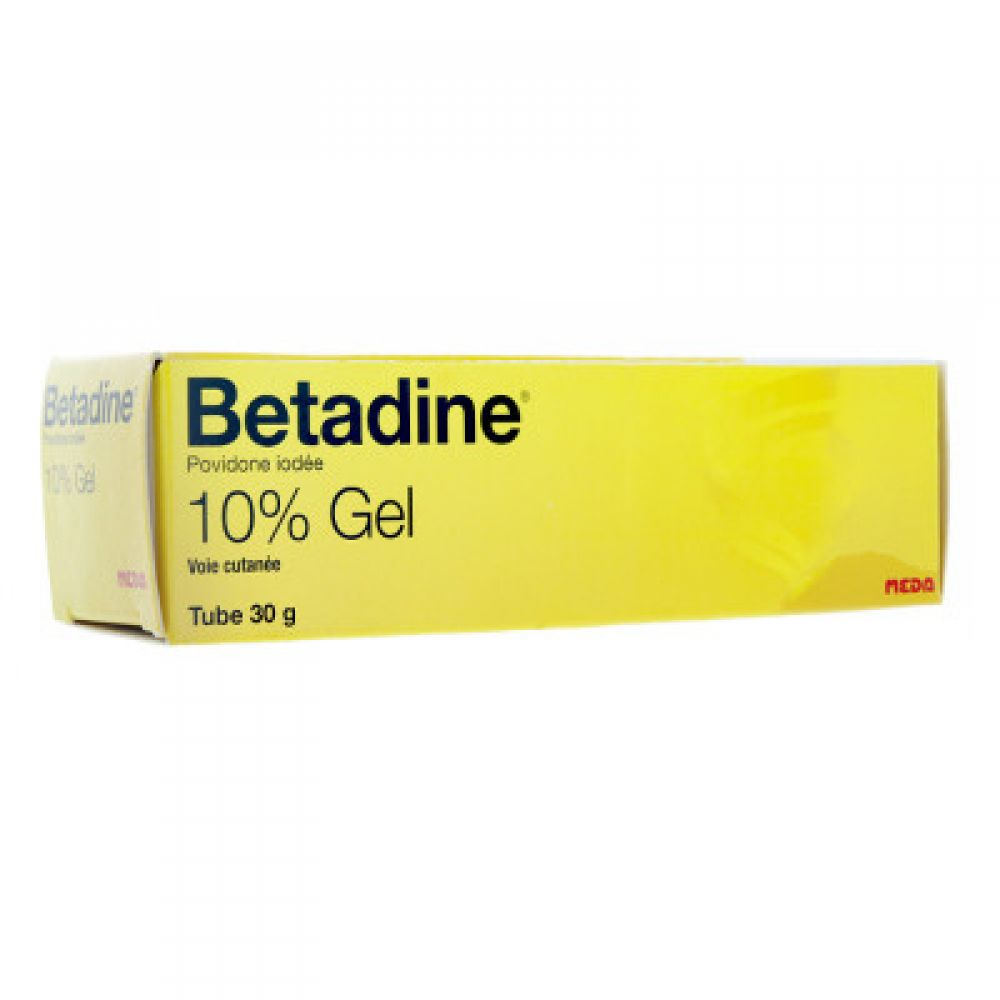 Betadine 10% Gel - Tube de 30g
