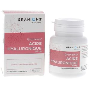 Acide hyaluronique – 60 gélules