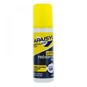 Poux Apaisyl Prevention - Spray de 90ml