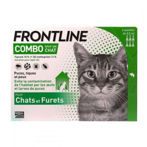Frontline Combo chat pipettes - 6 pipettes