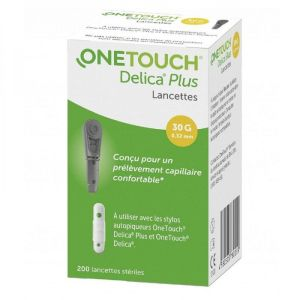 One Touch Delica+ Lancettes 200