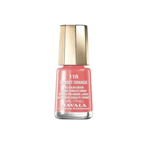 Mini Vernis Sunset Orange - 5mL