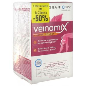 Veinomix lot de 2 – 60 Cpr