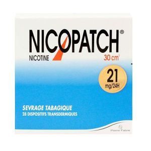 Nicopatch 21mg/24h - 28 dispostifs transdermiques