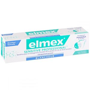 Dentifrice Elmex Sensitive pro blancheur - 75 ml