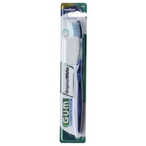 Brosse à dents Original White Medium Compacte