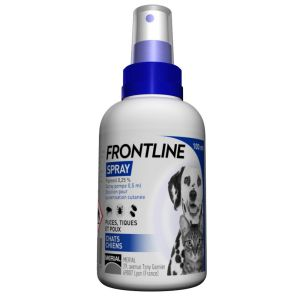 Frontline spray antiparasitaire - 100 ml