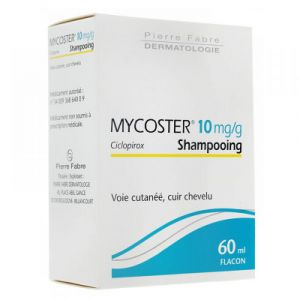 Mycoster 10mg/g Shampooing - Flacon de 60ml