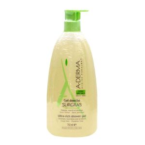 Gel douche Aderma surgras à l'avoine Rhealba - 750 ml