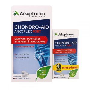 Chondro-Aid Arkoflex fort Arkopharma x 150 gélules (dont 30 offertes)